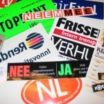 Voorbeeld Stickers
